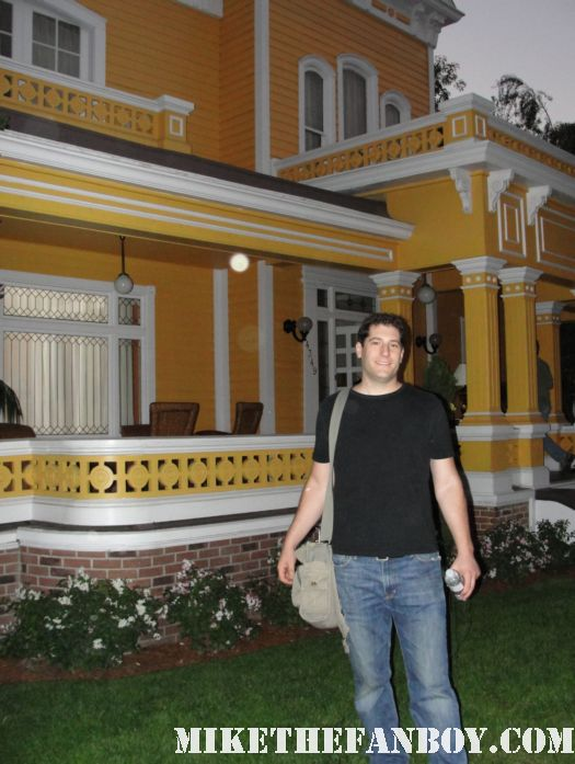 in front of gabby solis house  on wisteria lane the set of desperate housewives set visit rare