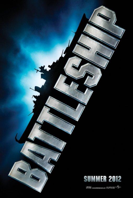 battleship rare one sheet teaser movie poster rihanna alexander skarsgard promo hot sexy parker bros battleship movie poster one sheet promo