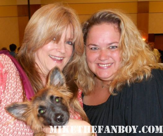 pinky from mike the fanboy's pretty in pink with ms susan olsen cindy brady at the hollywood collector's show signed autograph rare promo