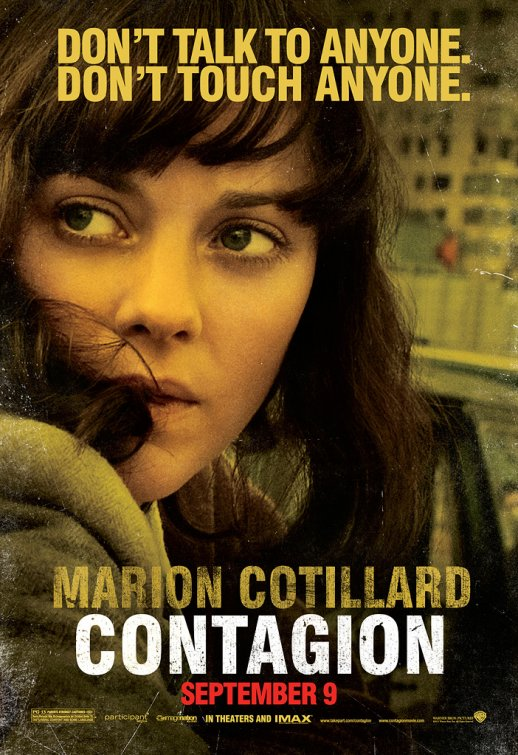 Marion Cotillard rare contagion individual rare promo movie poster one sheet Inception legacy rare hot sexy photo shoot promo