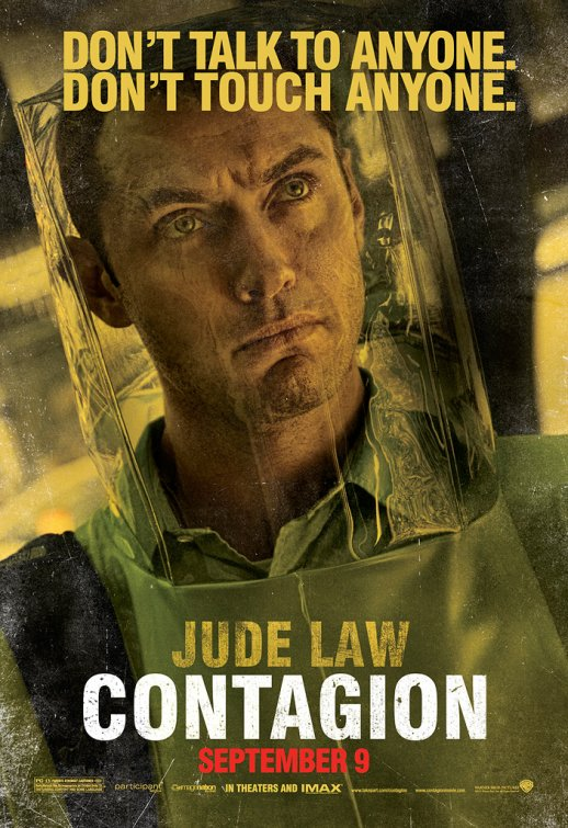 jude law rare contagion individual rare promo movie poster one sheet Inception legacy rare hot alfie hot sexy rare photo shoot promo