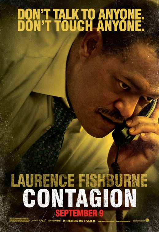 laurence fishburne rare contagion individual rare promo movie poster one sheet Inception legacy rare hot