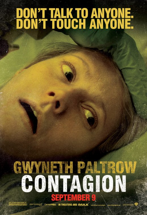 gwyneth paltrow rare contagion individual rare promo movie poster one sheet Inception legacy rare hot