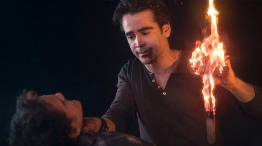 colin farrell in a sexy promo photo from fight night 2011 press still burning cross rare hot sexy