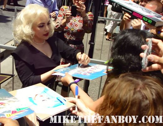 jane wiedlin signing autographs for fans at the go-go's walk of fame star ceremony The Go-go's wpinky from pretty in pinky at The Go-go's walk of fame star ceremony on hollywood blvd we got the beat belinda carlisle charlotte caffey jane wiedlin gina schock kathy valentinealk of fame star ceremony on hollywood blvd we got the beat belinda carlisle charlotte caffey jane wiedlin gina schock kathy valentine