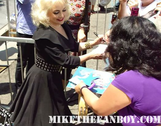 jane wiedlin signing autographs at The Go-go's walk of fame star ceremony on hollywood blvd we got the beat belinda carlisle charlotte caffey jane wiedlin gina schock kathy valentinealk of fame star ceremony on hollywood blvd we got the beat belinda carlisle charlotte caffey jane wiedlin gina schock kathy valentine