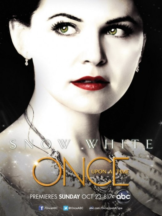 once upon a time rare abc promo poster snow white individual promo poster ginnifer goodwin hot sexy rare lost tron legacy promo poster abc pilot snow white fairytale d23 convention
