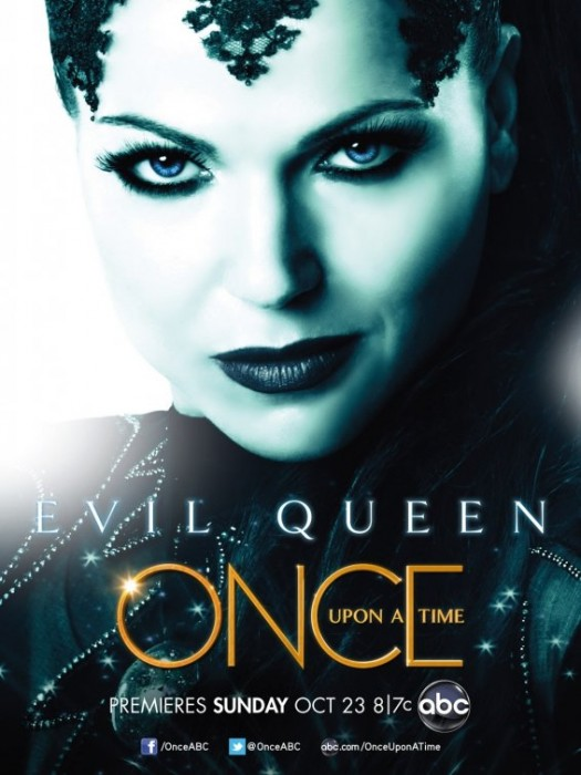 once upon a time rare abc promo poster the evil queen individual promo poster Lana Parrilla rare lost tron legacy promo poster abc pilot snow white fairytale d23 convention