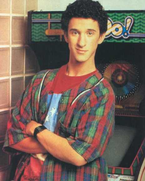 rare screech promo press still from Saved By The Bell dustin diamond rare promo photo