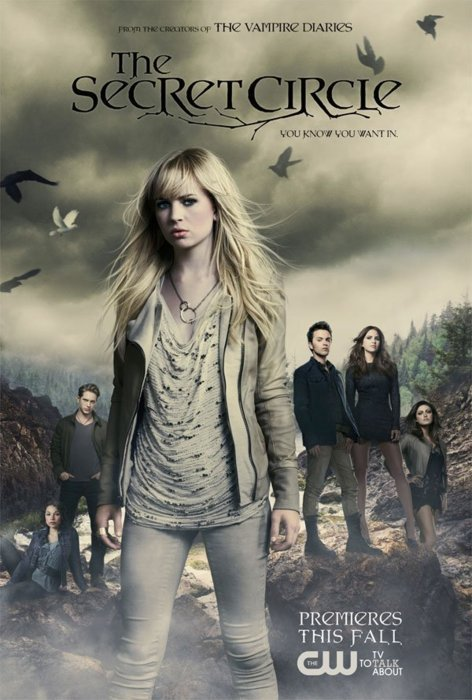 the cw's secret_circle rare promo poster comic con 2011  Anyway, The Secret Circle stars Gale Harold, Natasha Henstridge, Thomas Dekker, Brittany Robertson and Emily Holmes hot sexy rare promo