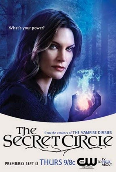 the cw's secret_circle rare promo poster comic con 2011 Natasha Henstridge Dawn Chamberlain individual promo poster secret circle