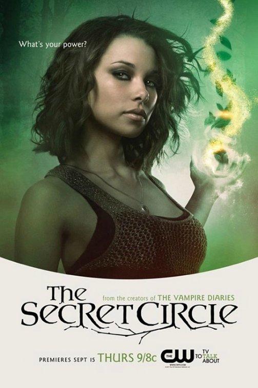 the cw's secret_circle rare promo poster comic con 2011 logan brown sally individual promo poster secret circle