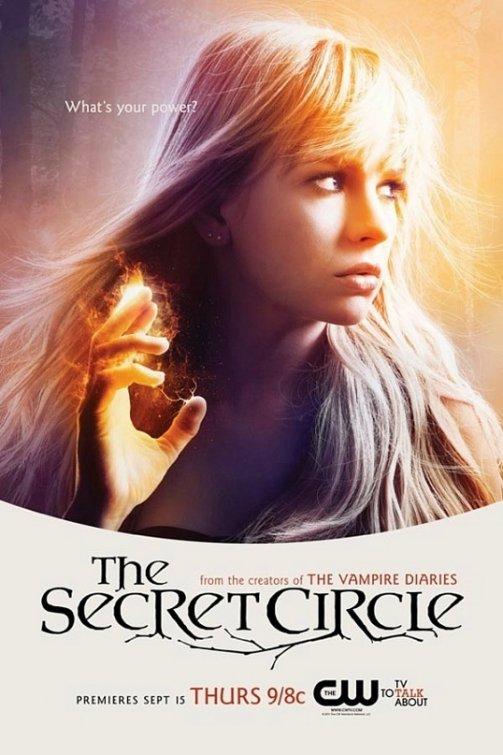 the cw's secret_circle rare promo poster comic con 2011 brittany robertson cassie blake individual promo poster secret circle