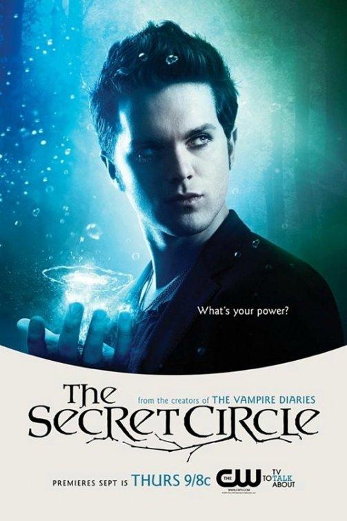 the cw's secret_circle rare promo poster comic con 2011 thomas dekker adam conant individual promo poster secret circle