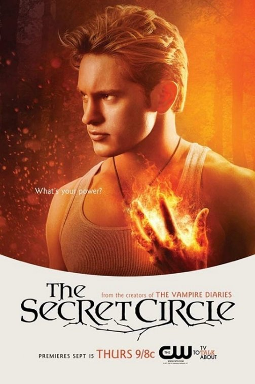 the cw's secret_circle rare promo poster comic con 2011 louis hunter Nick armstrong individual promo poster secret circle shirtless muscle shirt rare promo