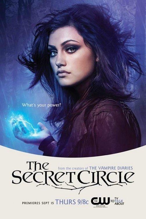 the cw's secret_circle rare promo poster comic con 2011 Phoebe Tonkin Faye Chamberlain individual promo poster secret circle
