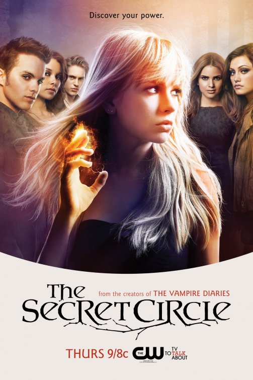 the cw's secret_circle rare promo poster comic con 2011  Anyway, The Secret Circle stars Gale Harold, Natasha Henstridge, Thomas Dekker, Brittany Robertson and Emily Holmes