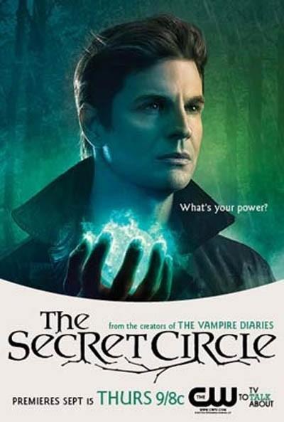 the cw's secret_circle rare promo poster comic con 2011 adam herrington ethan contant Chamberlain individual promo poster secret circle
