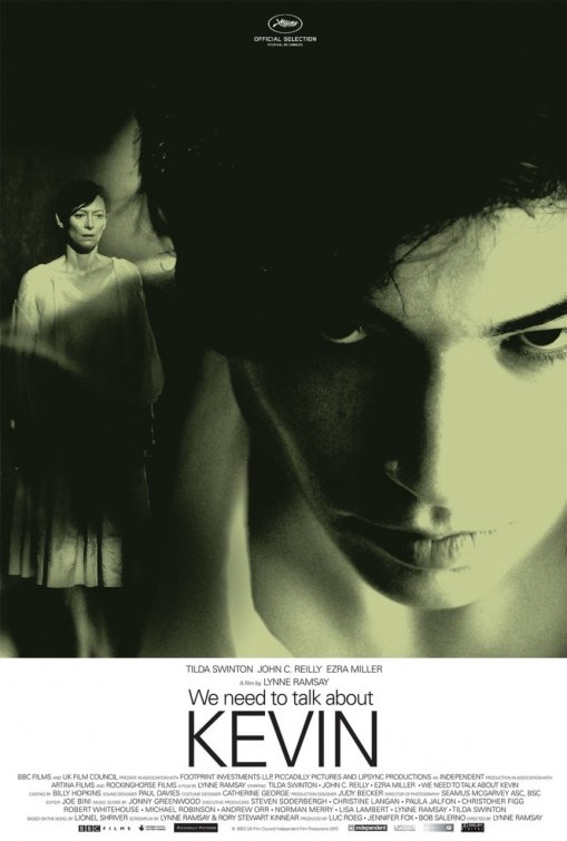 We Need To Talk About Kevin rare promo one sheet movie poster tilda swinton horror thriller rare promo poster