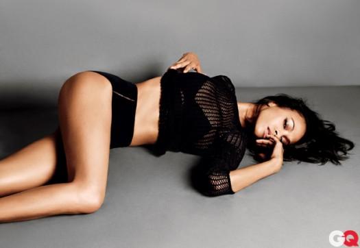 zoe saldana hot and sexy photoshoot in GQ Magazine september 2011 rare promo hot sexy rare avatar star trek uhura