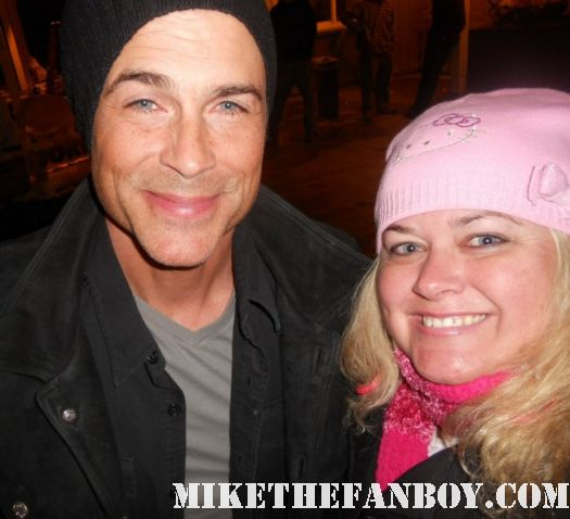 pretty in pink with 1980s icon mr rob lowe at sundance in utah hot rare about last night... the outsiders valley girl
