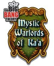 The Mystic Warlords of Ka'a facebook game from The Big Bang Theory rare card game promo rare hot kaley cuoco johnny galecki
