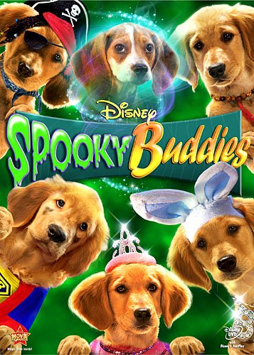 Walt Disney's Spooky Buddies on DVD and Blu Ray cover art mudbud budderball rare promo