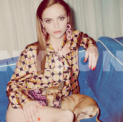 christina ricci hot and sexy photoshoot in the september 2011 issue of nylon magazine pan am sleepy hollow pumpkin adams family rare sexy hot the opposite of sex