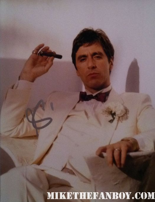 al pacino signed autograph scarface photo photograph rare devil's advocate hot the godfather rare promo sexy over the top scent of a woman