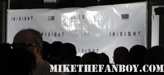 pinky at the prelease premiere of insight starring veronica cartwright natalie zea christopher lloyd and sean patrick flanery