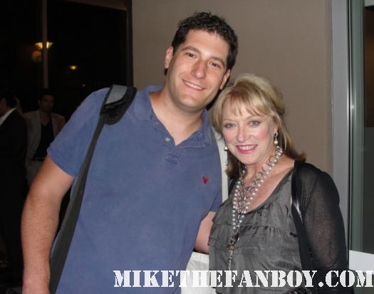 Mike The Fanboy with alien and witches of eastwick star veronica cartwright at the insight pre lease premiere