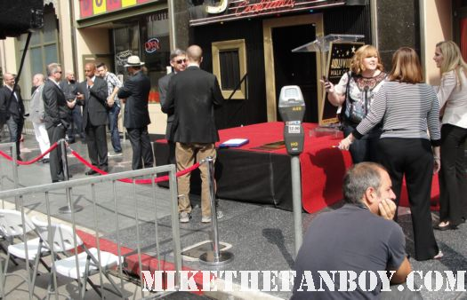 joss whedon arriving at Neil patrick harris walk of fame star ceremony signed autograph joss whedon jason segel rare signed autograph