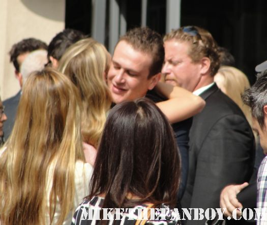 jason segel arriving at Neil patrick harris walk of fame star ceremony signed autograph joss whedon jason segel rare signed autograph