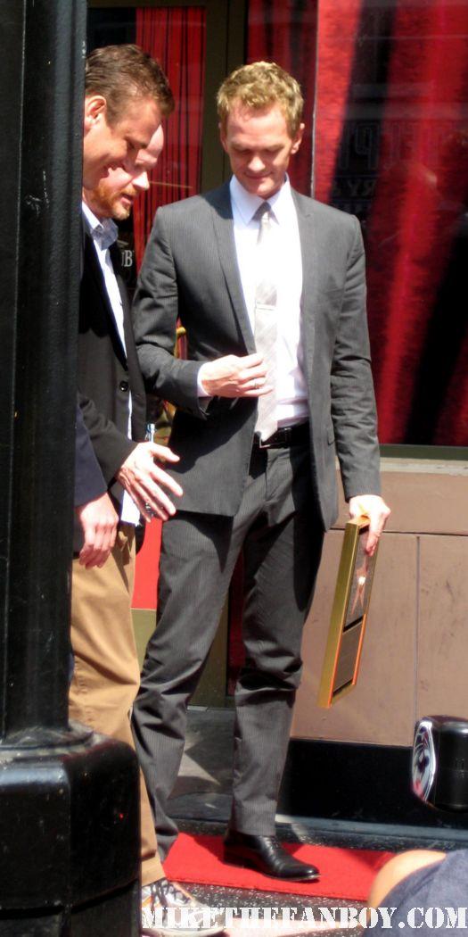 Neil Patrick Harris Star ceremony hollywood walk of fame with david burtka jason segel joss whedon buffy the vampire slayer how I met your mother barney doogie howser MD