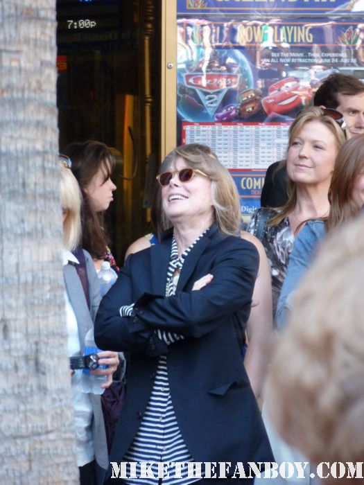 sissy spacek arriving to her walk of fame celebration star ceremony sissy spacek's star ceremony on the hollywood walk of fame promoting the help signed autograph rare promo
