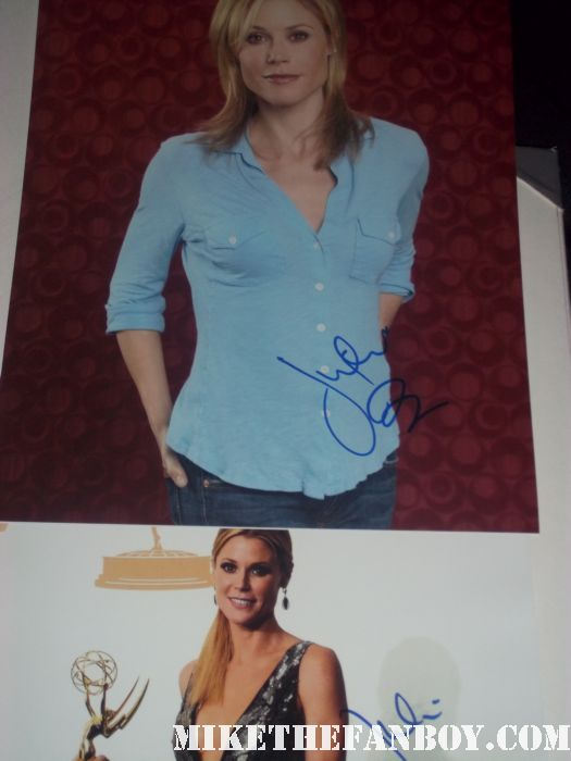 julie bowen signed autographed modern family emmy award winner promo photo hot sexy rare weeds season 4