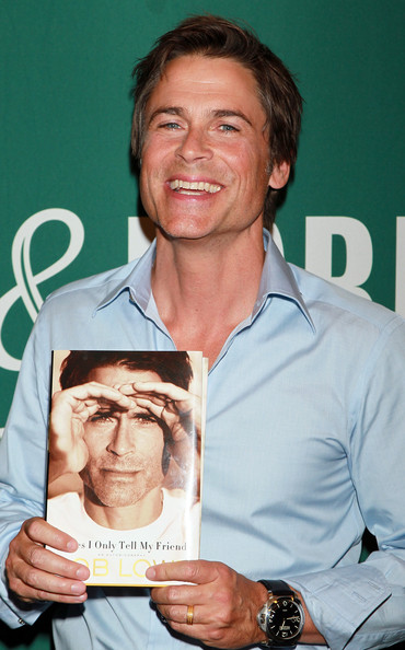 rob lowe photo from his book signing hot sexy barnes and noble promo tom cruise story