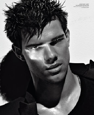 taylor lautner sexy and brooding on the cover of V Man magazine september 2011 hot sweaty rare promo abduction twilight breaking dawn rare promo
