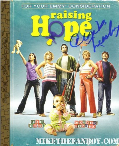 cloris leachman signed autograph raising hope emmy for your consideration promo dvd cover martha plimpton raising hope and facts of life star cloris leachman signs autographs for fans at the fox emmy after party 2011 fox emmy awards show after party in west hollywood with lea michele julie bowen ty burrell eric stonestreet ariel winter david borenaz
