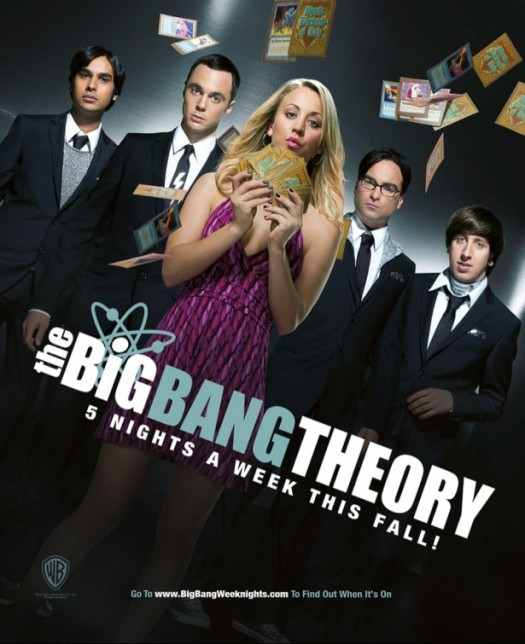 the big bang theory season 5 rare promo poster simon helberg kaley cuoco johnny galecki jim parsons