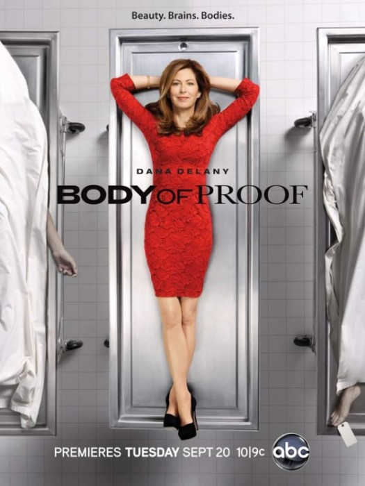 Dana Delany in body of proof season 2 promo poster rare hot and sexy china beach desperate housewives rare promo