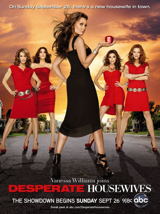 desperate housewives rare season 7 Seven promo poster teri hatcher marcia cross eva longoria rare hot sexy felicity huffman vanessa williams poster