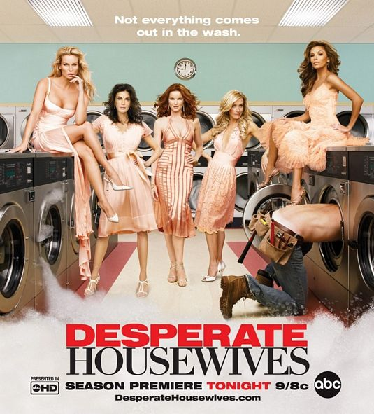 desperate housewives rare season 3 Three promo poster teri hatcher marcia cross eva longoria rare hot sexy felicity huffman laundry poster