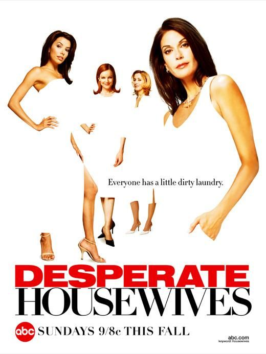 desperate housewives rare season 1 one promo poster teri hatcher marcia cross eva longoria rare hot sexy felicity huffman
