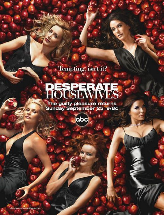 desperate housewives rare season 2 two promo poster teri hatcher marcia cross eva longoria rare hot sexy felicity huffman apple poster