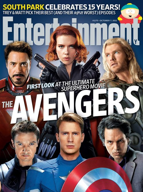 entertainment weekly the avengers rare promo hot magazine cover mark ruffalo chris hemsworth robert downey jr chris evans jeremy renner scarlett johanssen hot sexy avengers poster
