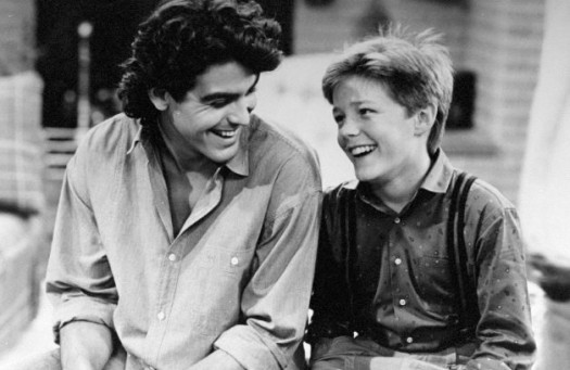 mackenzie astin starring as andy moffet from the facts of life season 7 rare promo photo credits with george clooney rare press still