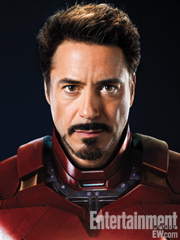 robert downey Jr. iron man the avengers rare promo photo shoot robert downey jr iron man sexy hot joss whedon entertainement weekly magazine 2011