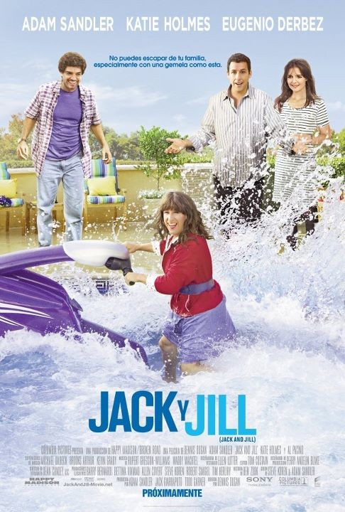 jack and jill movie poster adam sandler cross dressing one sheet movie poster promo hot rare adam sandler drag queen foreign one sheet movie poster jack and jill