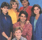 mackenzie astin starring as andy moffet from the facts of life season 7 rare promo photo credits with george clooney rare press still the facts of life cast photo